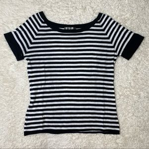 Love 21/Forever 21 Navy/White Striped Top